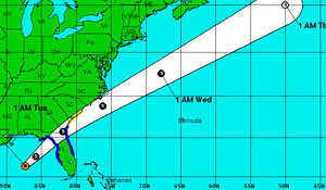 Tropical Storm Colin Surf Outlook