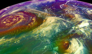 Atlantic Cyclogenesis: Birth of a Superstorm