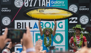 Jeremy Flores Crowned at Teahupoo