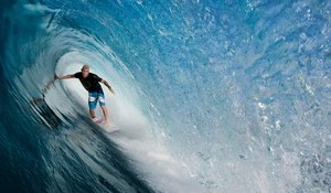 Anxious Mick Fanning Surfs First J-Bay Wave Before Comp Starts