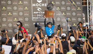 Mick Victorious in Peniche, World Title Showdown Set for Pipeline