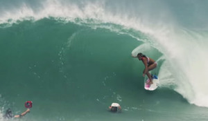 Barrelled in Mexico with Pauline Ado