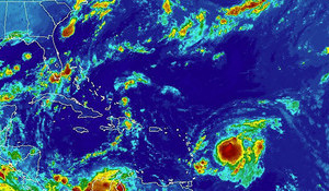Tropical Storm Erika Surf Outlook
