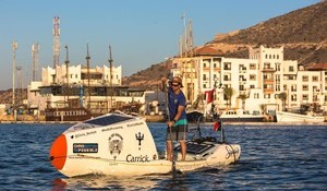 Chris Bertish Sets off on First Ever Solo Trans-Atlantic SUP Paddle