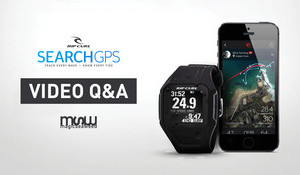 Rip Curl Search GPS Watch Q&A