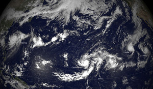 First Hawaiian Hurricane Landfall in 22 Years