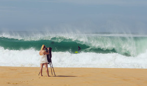 Grand Cru Sand in South West France as the Quik Pro Nears