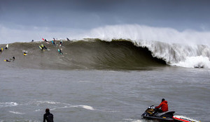 Tom Lowe's Take on the  Mavericks Swell of the Season