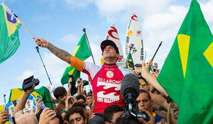 Medina Wins Brazil's First World Title, Wilson Takes Pipe Masters and Triple Crown