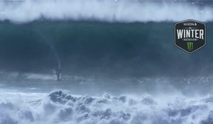 16-Year-Old Nazaré Tow Session
