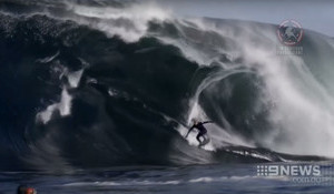 Paddling into Shark Infested Monster Swell is Mick Fanning's Idea of Fun