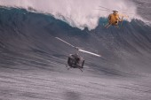Laird Back Towing Jaws During Point Break 2 Filming