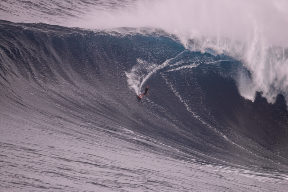 Francisco Porcella is a waterman with a preference for big waves. Living in Maui, Hawaii he heralds from Sardinia in Italy. He also surfs really well and took home an XXL.