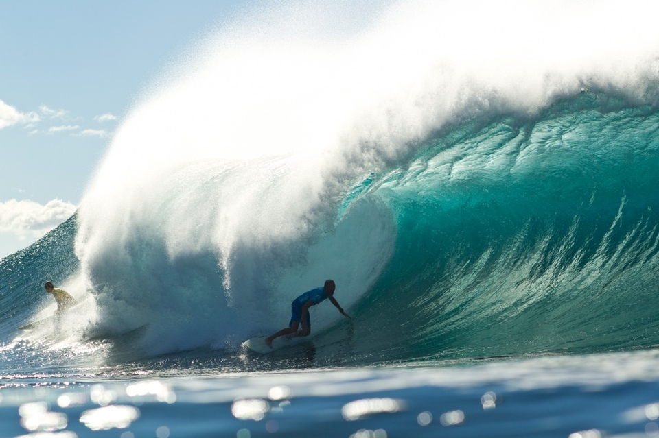 Flynn Novak doing what he does best at solid Pipe.