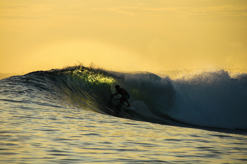 Amazing light delivers the goods for Jarrod Bell at Roxy's