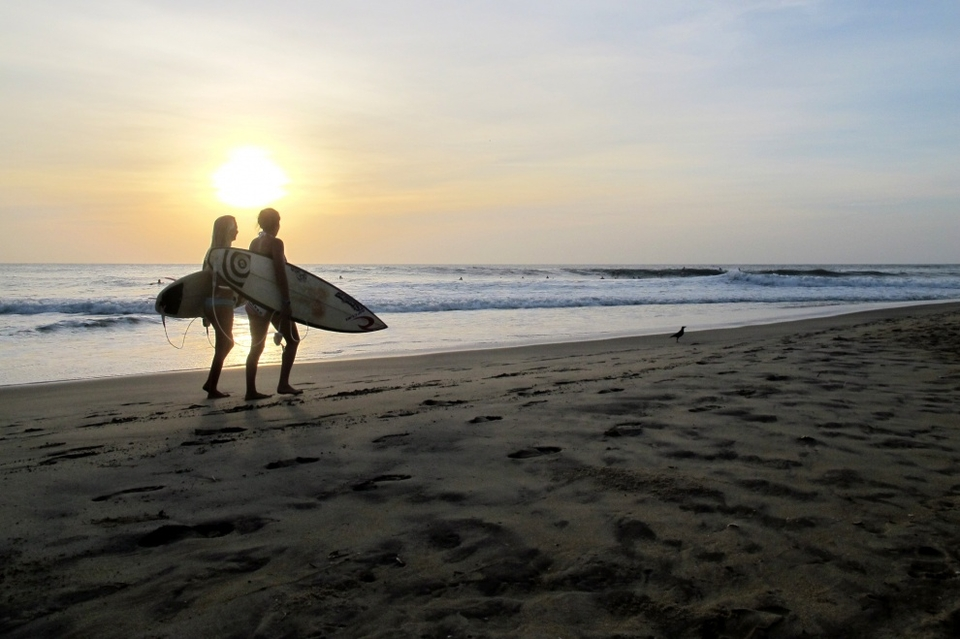 Aurgam Bay is a hidden treasure in the surfing world, great waves, the friendliest locals, warm water and great food.