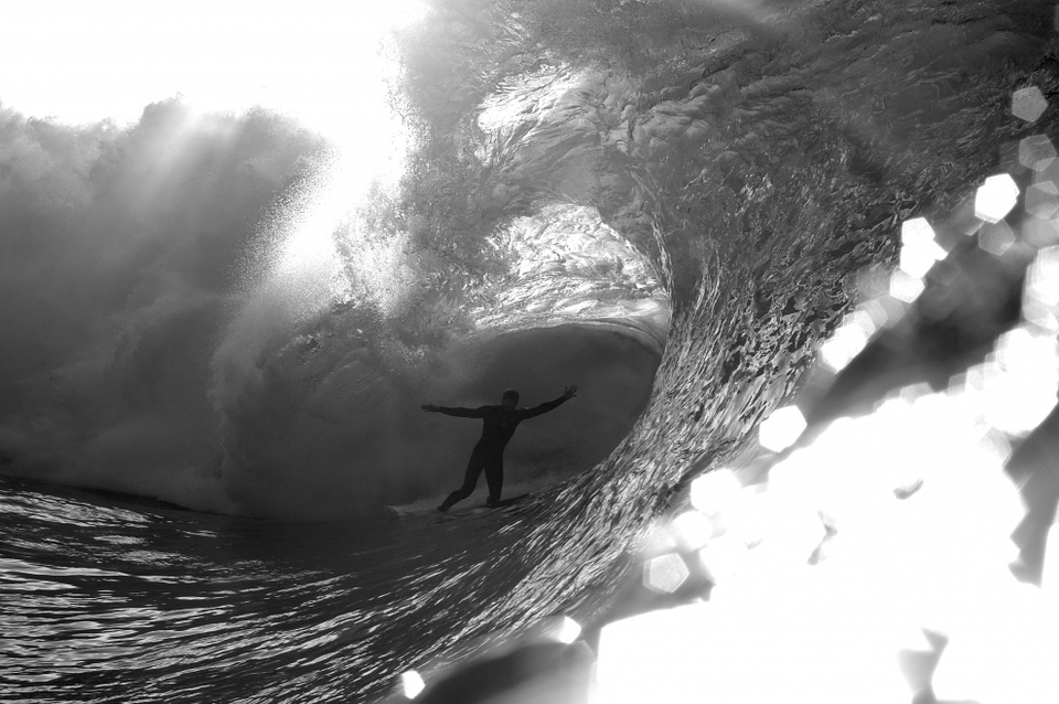 Tom Lowe deep in a trippy Winter cave at Laurens, Mickey Smith.