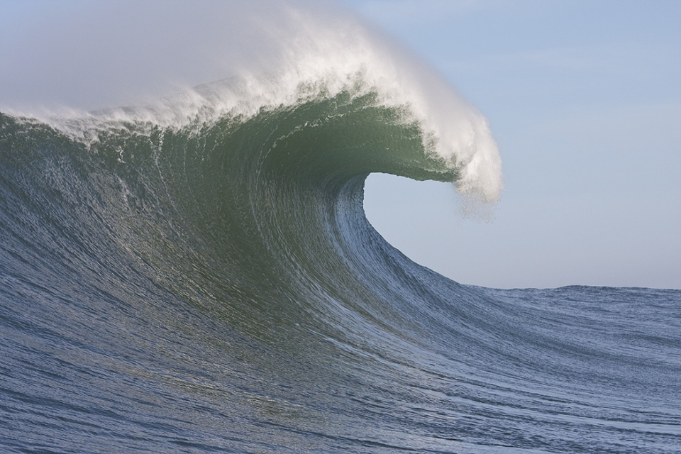 Mavericks lip flare and projection.