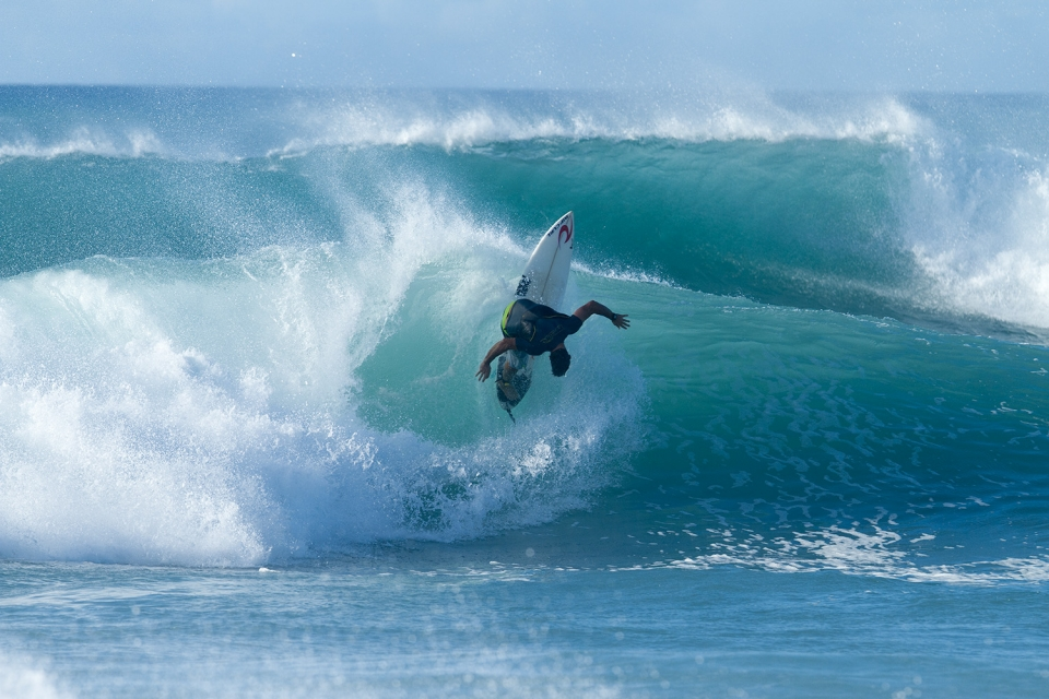Pancho Sullivan continues to impress when he hits the water, despite having a