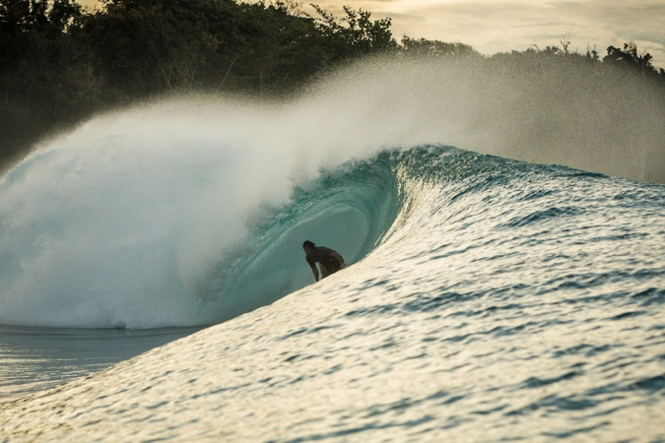Sancho on a Indo drainer… Man's an animal.