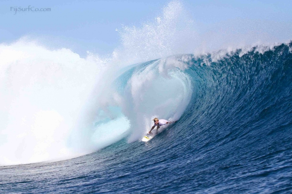 Pat Gudauskas (who is on the tour) looks more like a contender every day, right here he's channeling Bruce Irons.