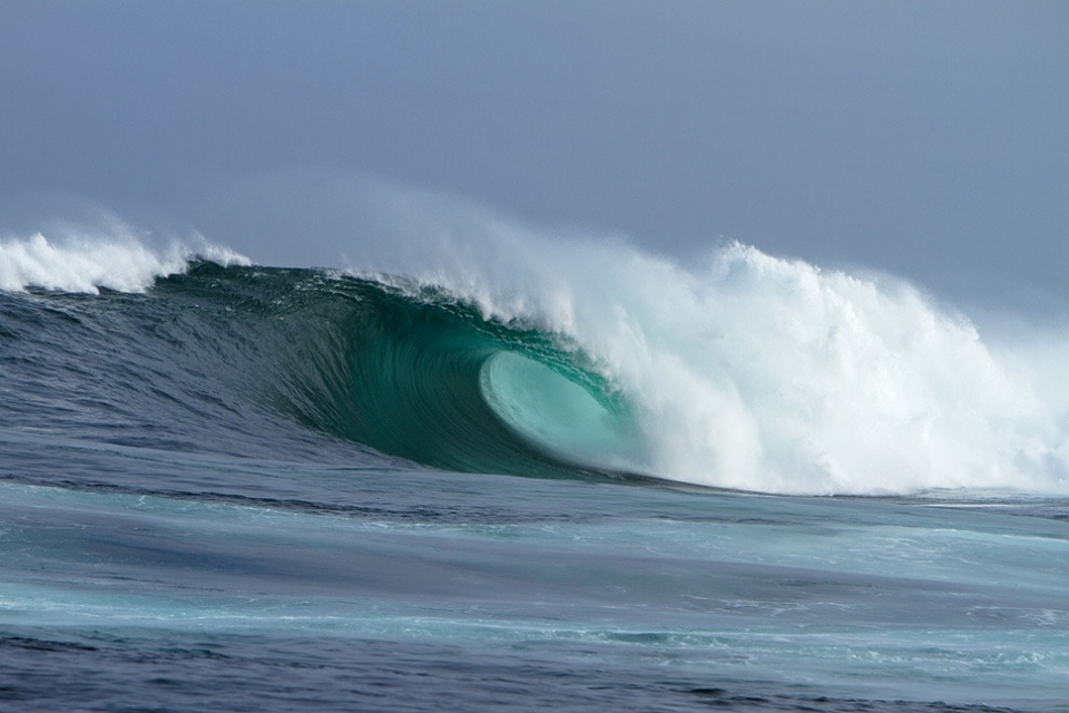 A massive barrel at the Slab.