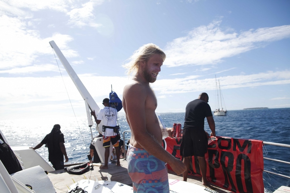 Dane Gudauskas looks a little like the Californian incarnation of Jesus.