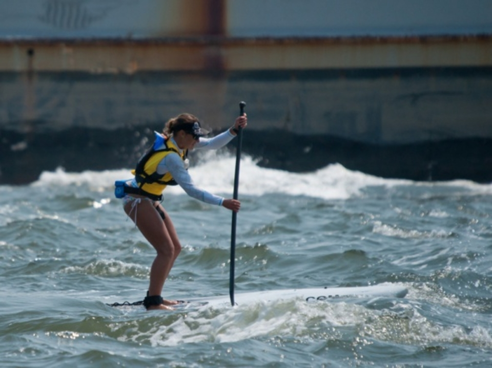 While Hell Gate tossed plenty of paddlers, it was no match for Annabel Anderson.