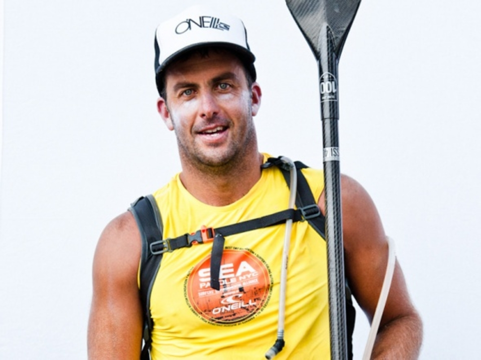 Rob Rojas defended his 2011 SUP win by taking first in the Men's SUP division and coming in second overall.