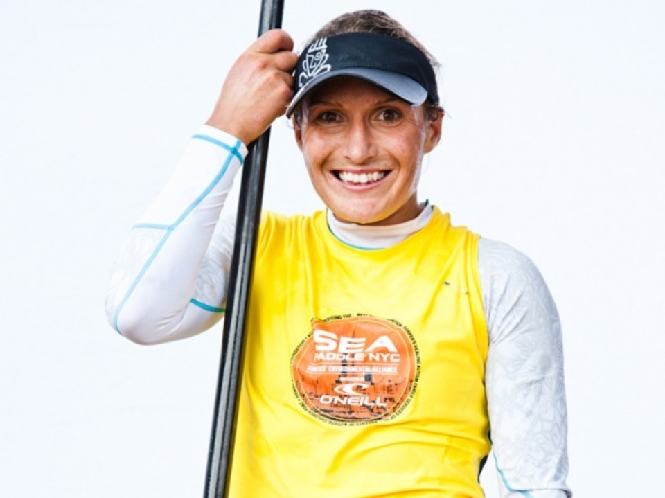 Annabel Anderson defended her 2011 SUP win by taking first in the Women's SUP division and coming in fourth overall, making Starboard proud.