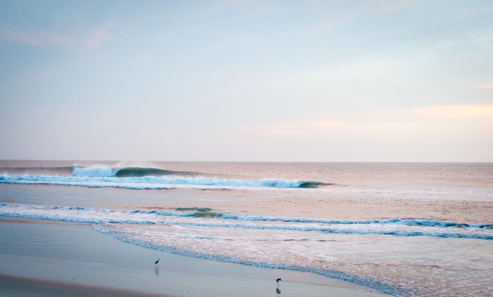 This was first light on Sunday at a little secret spot. This would be our last chance to get the goods, before another front came through with strong onshore winds.