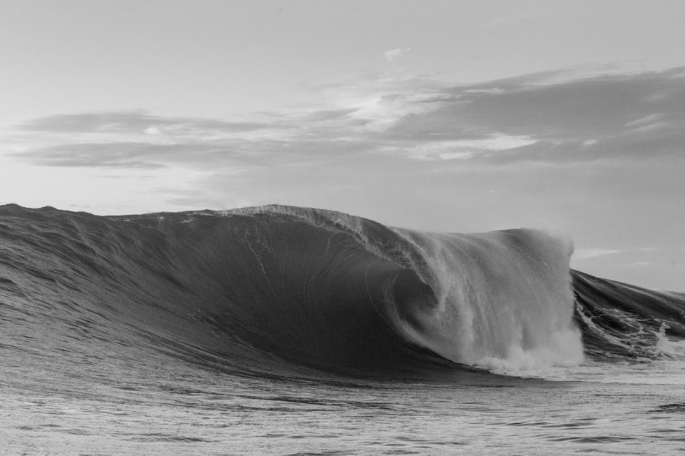 Big and heavy but still retaining some of the heat of summer, the same energy source which fuelled the hurricane and created the swell.