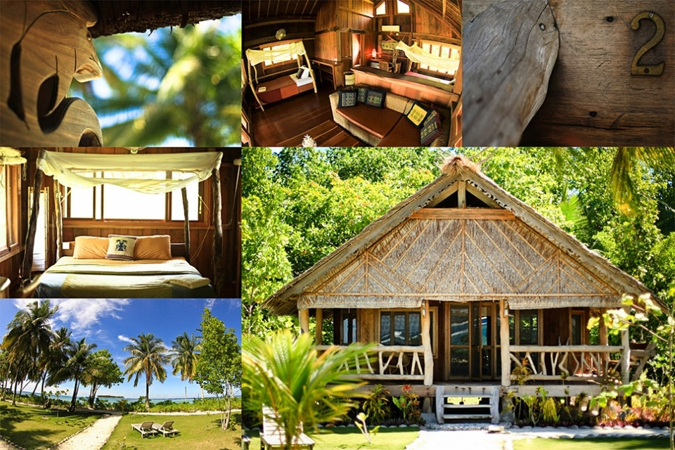 Island Life, Kandui Resort's accommodation.