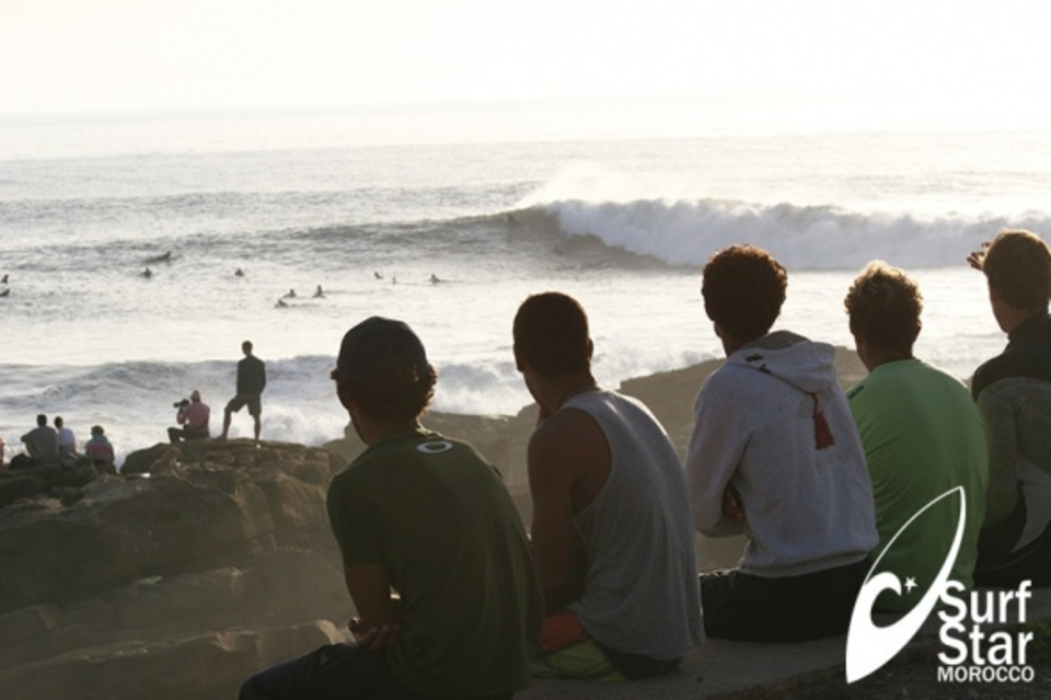 Surf Star Morocco surf camp take the front row seat