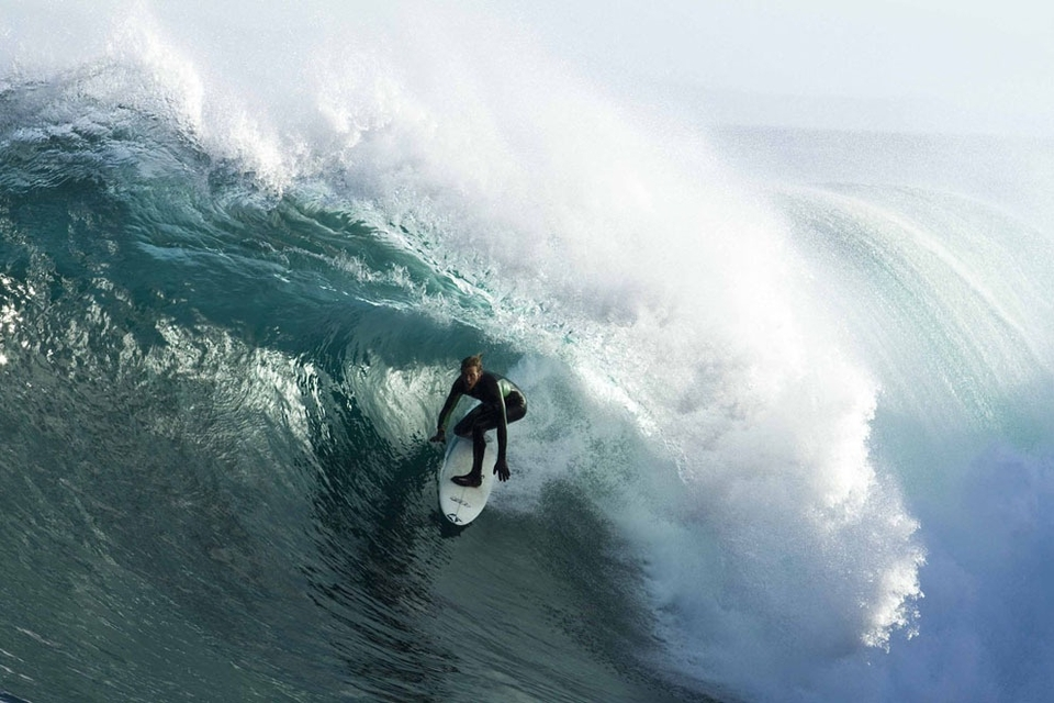 Rudy Swartz slotted in a fun Stern barrel.