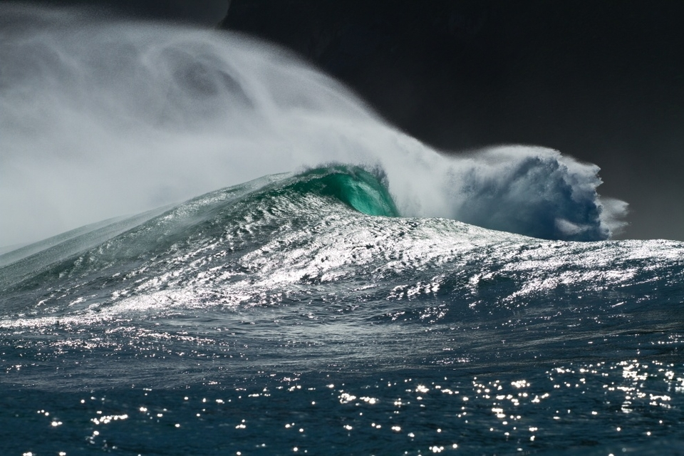 The raw Atlanic deep water swells off our coast meet the reefs with such speed and force that the amount of water displacement can be insane.    Dungeons has so many facets to it that on any given day that it can just throw up these radical angles.
