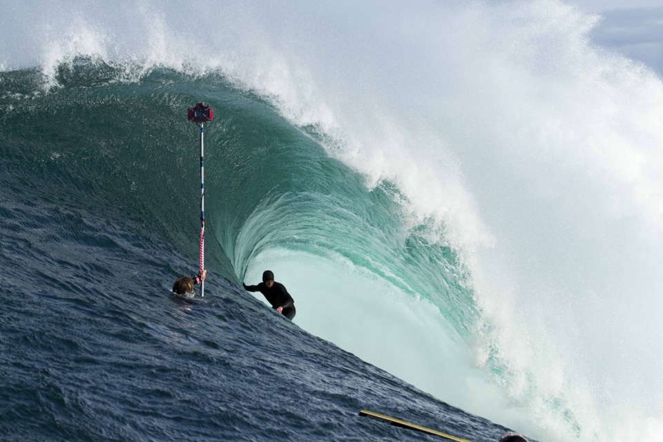 Brook Phillips, casual, in a fine looking barrel.