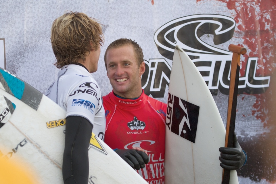 JOSH Kerr has won the O'Neill Cold Water Classic Canada 2010 ahead of Eric Geiselman in clean 4ft conditions on another epic sunny day in Tofino.