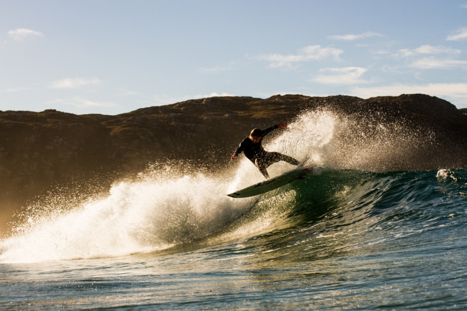 Stevo smashed any lip that came near him, light on his feet and fully in control during a sunny session.