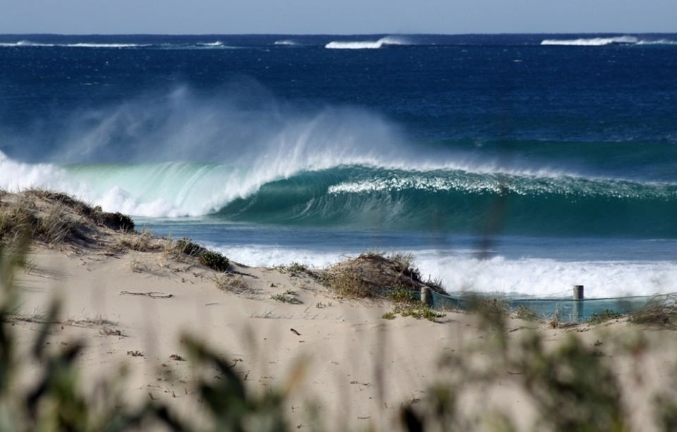 Empty drainer goes begging at  Cronulla by  Mattvphoto
