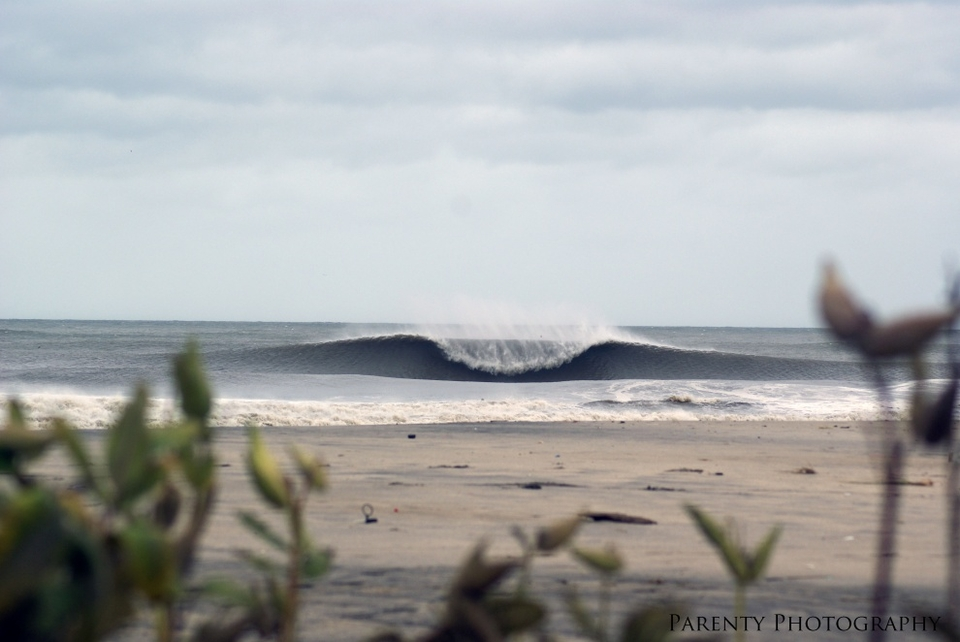 New Jersey's Asbury Park produced some menace once the winds shifted offshore.    More  here