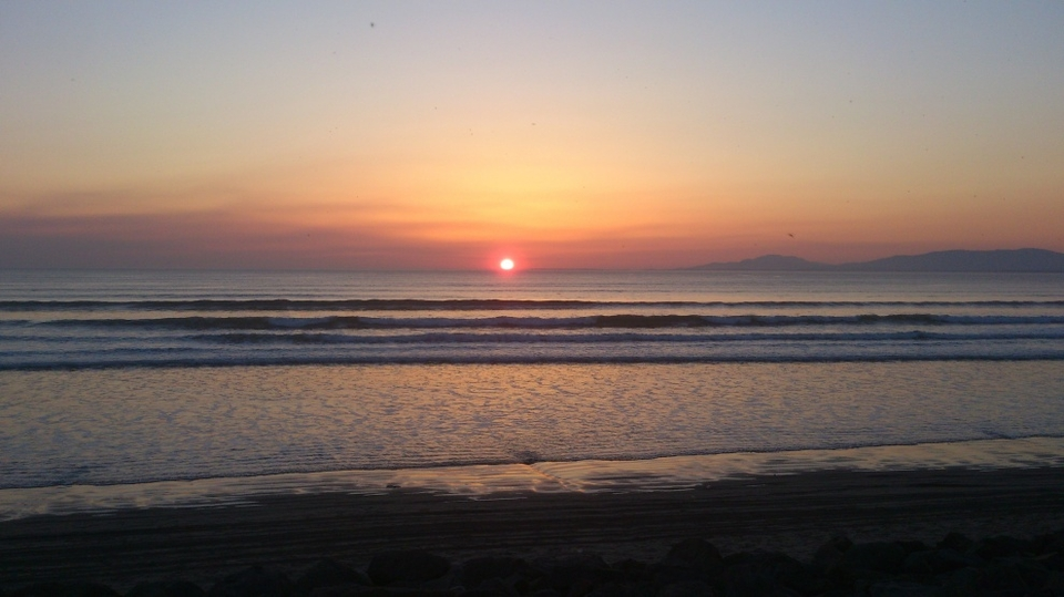 Sunset at Rossnowlagh   More from Hickok  here