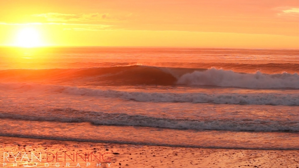 Whereas earlier in the morning it was top-to-bottom barrels.