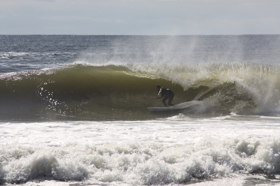 Just another great wave that Sunday morning.