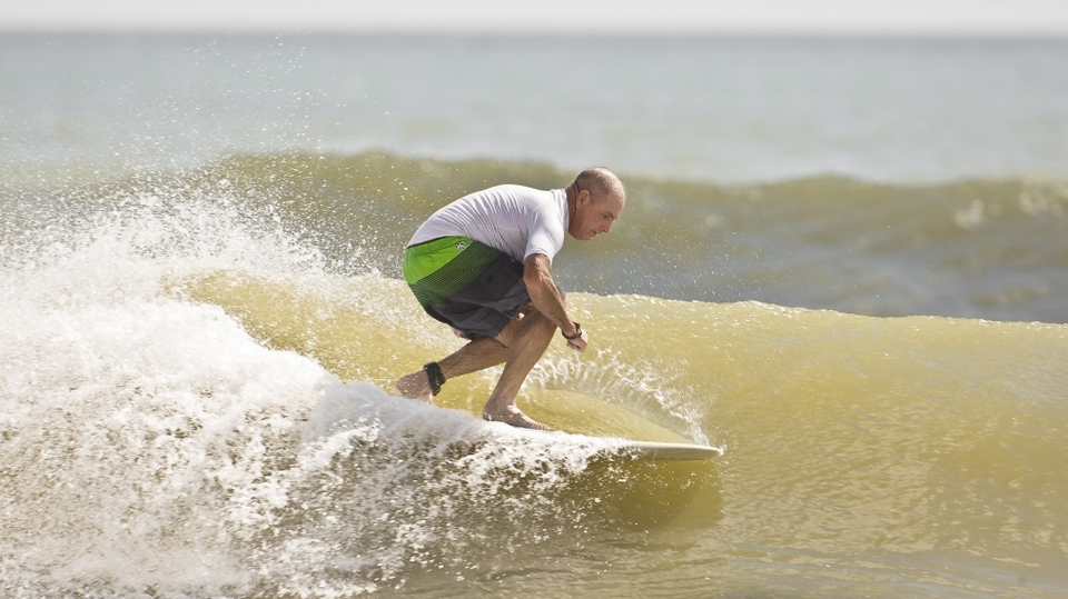JP, soul ride at Guana middle beach, Florida