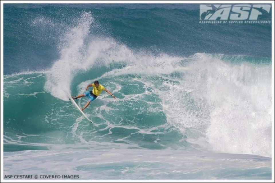 Jarrad Howse posted one of the competitions Top 10 heat scores in Round 96