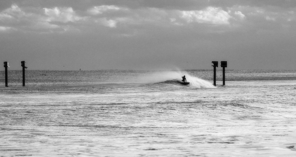 Carolina Beach Unknown at The Pipe, South Carlina on Monday, October 29th. A million metaphorical miles from the confusion and chaos up north.