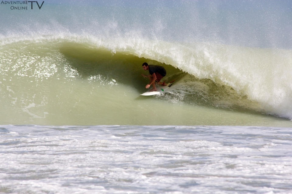 All day barrels at South Beach, Florida on Sat, Oct, 27th.