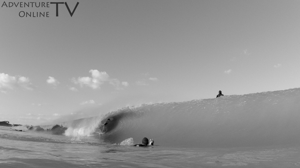 Sebastian Moreno again getting shacked at Vero Beach, Florida.