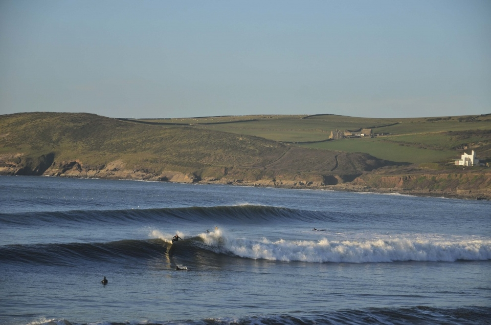 Croyde Beach in winter, yes please.